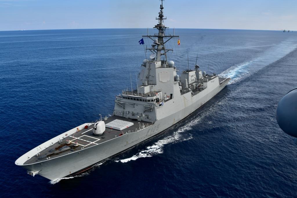 cristabal colon f105 alvaro de bazan - naval post- naval news and information