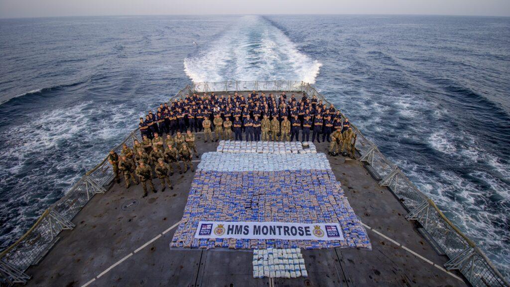 ctf 150 hms montrose - naval post