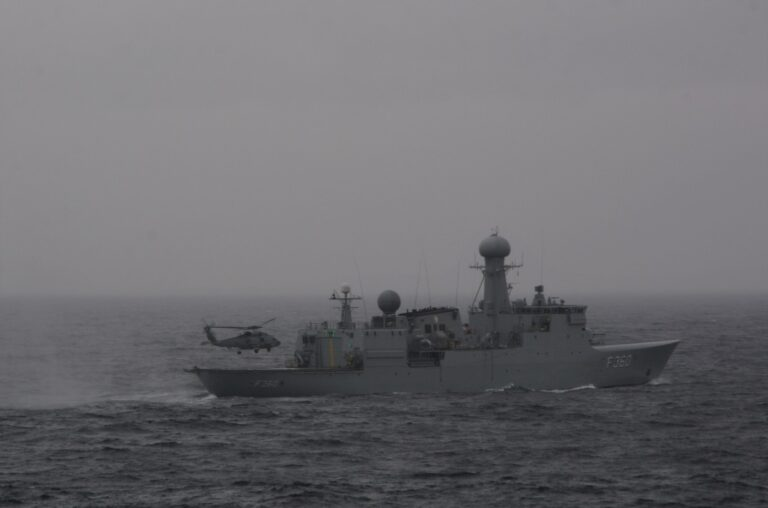 NATO SNMG1 assets participate Joint Warrior 21-1 exercise
