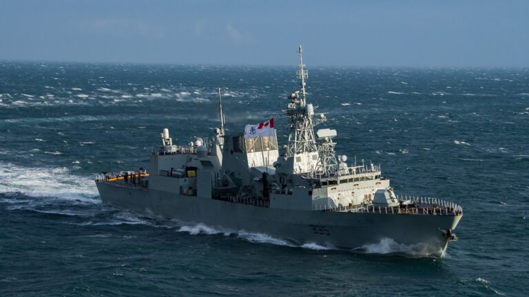 Royal Canadian Navy Led Task Force Changing The History of the Middle East