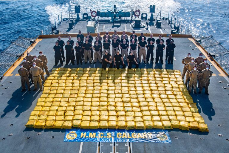 French and Royal Canadian Navy Continue Counter-Narcotics Operations under CTF-150