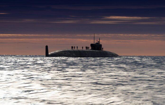 Russian Navy's Project 955A Class Submarine Kynaz Oleg (Source: TASS)