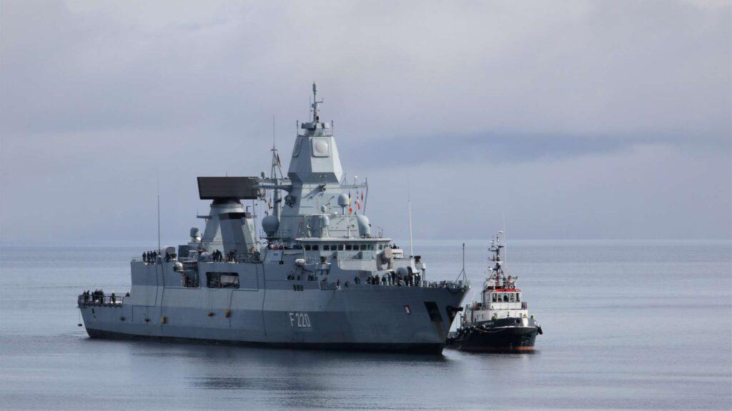 missile firing exercise 2021 fregatte hamburg harstad - naval post- naval news and information