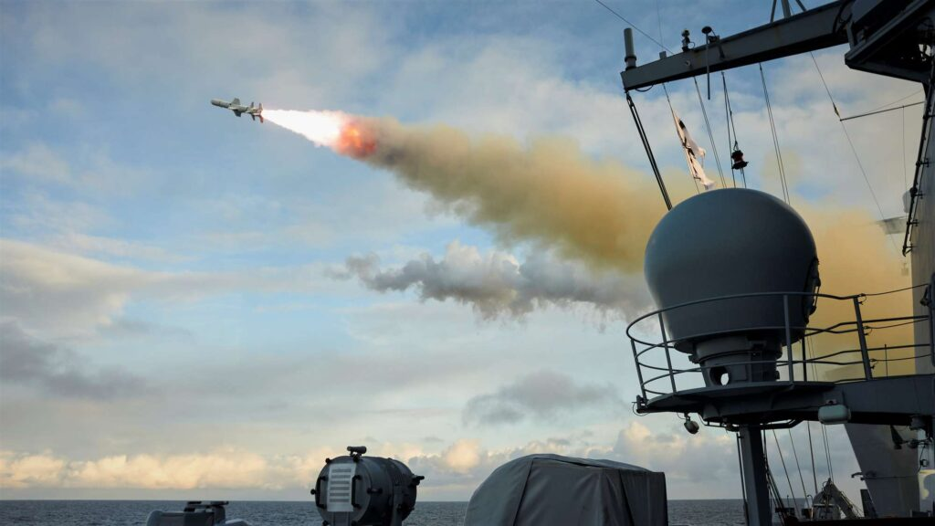 missile firing exercise 2021 harpoon - naval post- naval news and information
