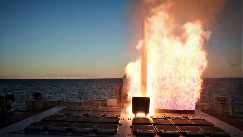 missile firing exercise 2021 vertical launch system - naval post- naval news and information