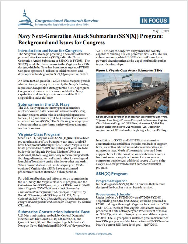 next generation attack submarine - naval post- naval news and information