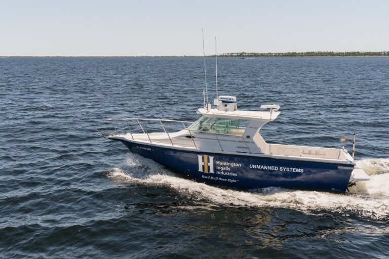 HII debuts Proteus unmanned surface test vessel