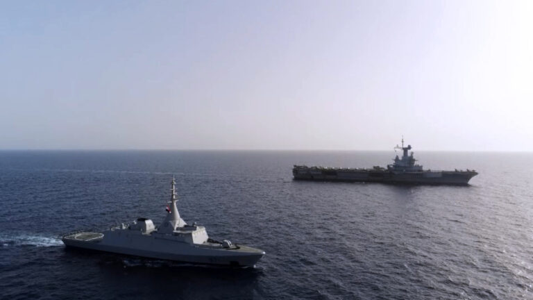 Egyptian and French Navies Carry Out Ramses 2021 Exercise