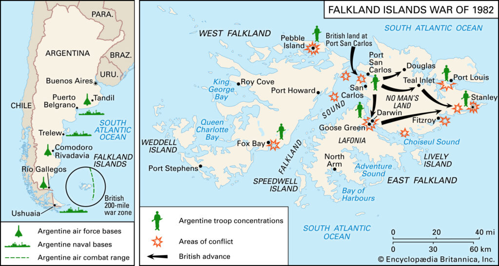 route zone falkland islands war landing forces - naval post- naval news and information
