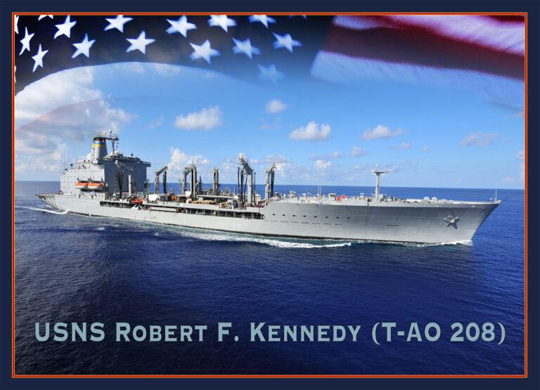 GD-NASSCO begins construction of USNS Robert F. Kennedy