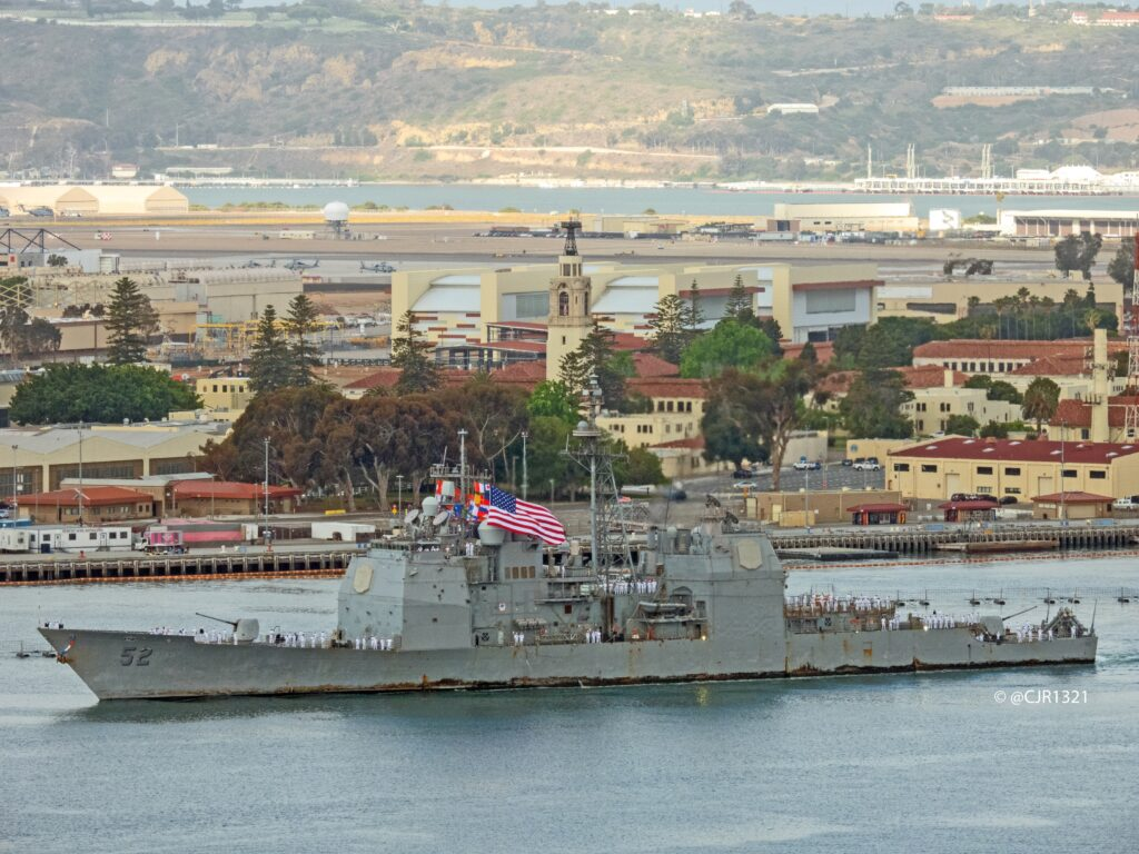 uss bunker hill return from deployment 2 - naval post- naval news and information