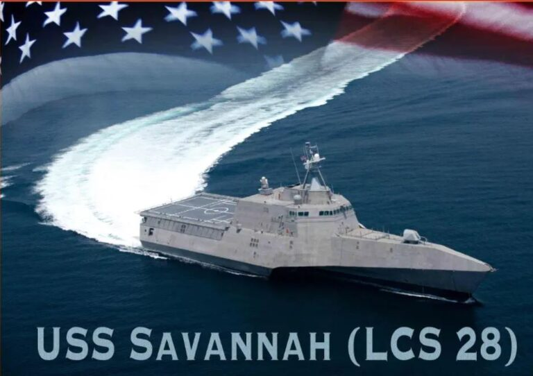 Future USS Savannah (LCS 28) completes acceptance tests