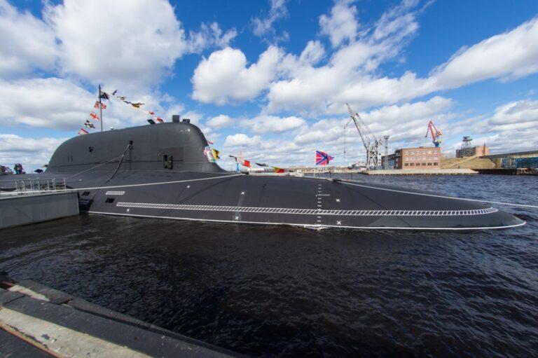"Project 885M (Yasen M) Class  Submarine ""Kazan""  joins Russian Navy"