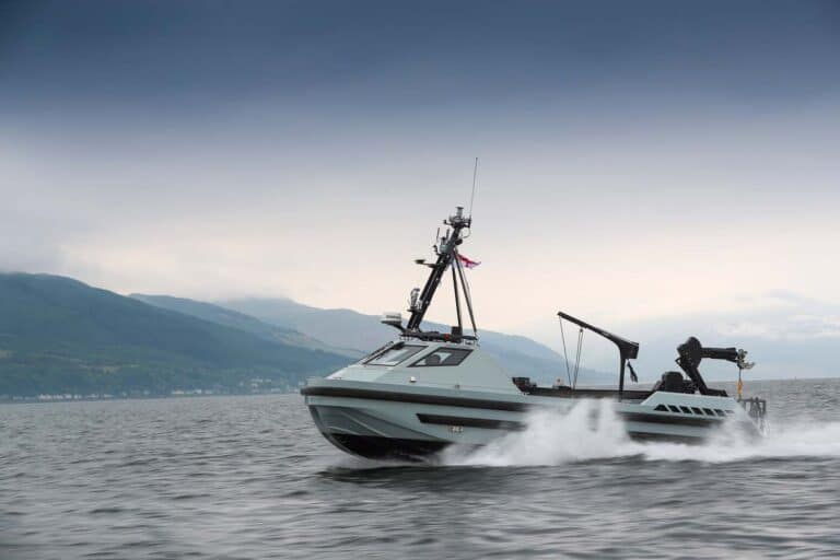 3rd and final autonomous minehunter boat delivered to the Royal Navy