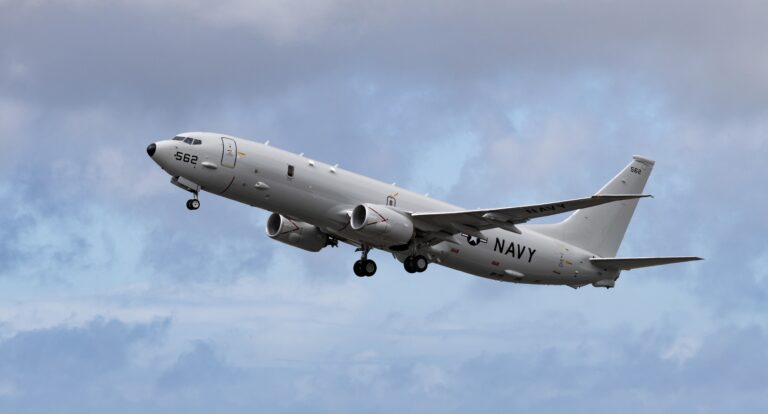 US Navy's P-8 MPA launches Harpoon missiles for the 1st time in Europe