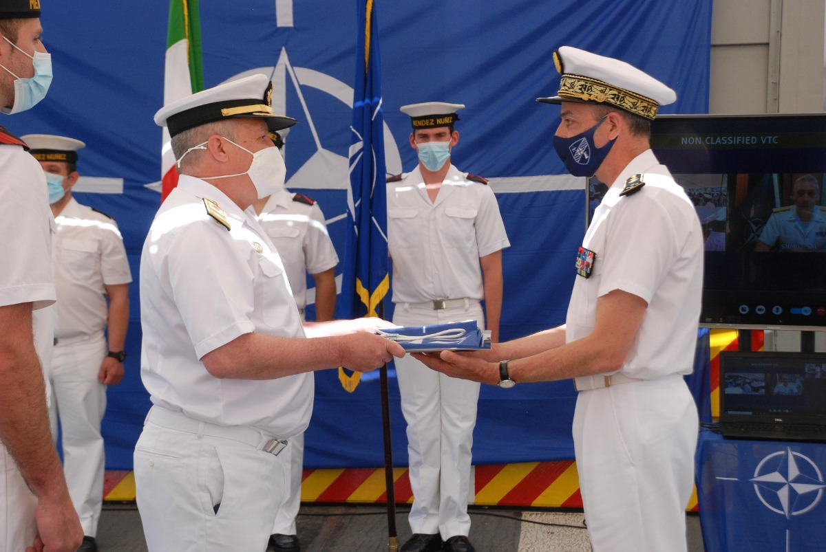 Italy assumes command of Standing NATO Maritime Group 2