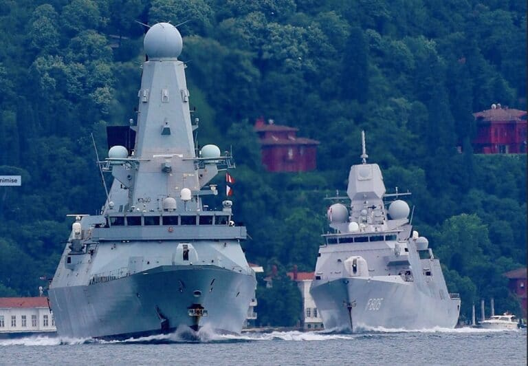 3 NATO warships deploy to the Black Sea just before NATO Summit 2021