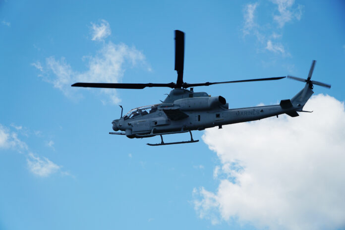 AH-1Z Viper flights with Link 16 for the first time
