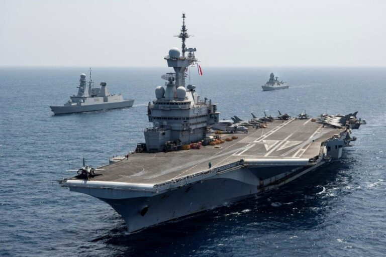 Charles de Gaulle carrier strike group completes Clemenceau-2021 mission