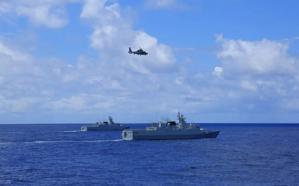 chinese navy exercise - naval post- naval news and information