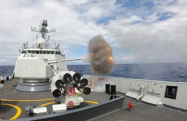 Chinese Navy carries out month-long open-sea training