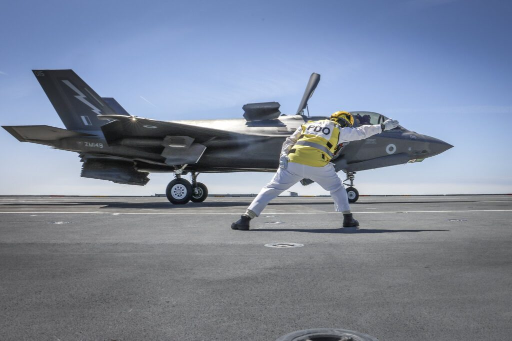 f35b hms prince of wales 3 1 - naval post- naval news and information