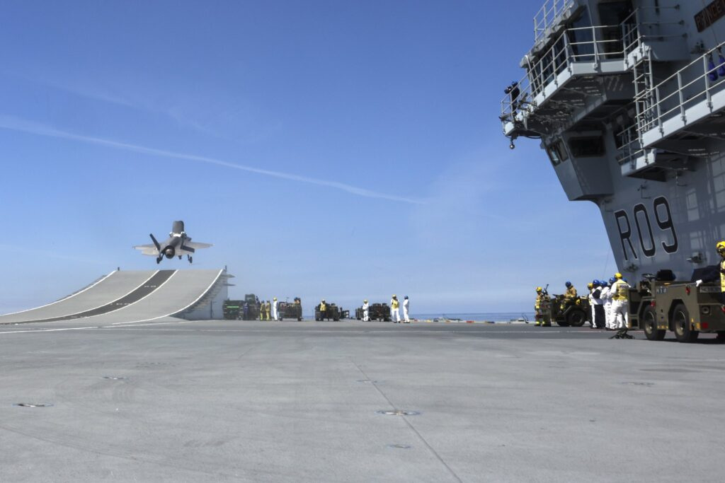 f35b hms prince of wales 4 1 - naval post- naval news and information