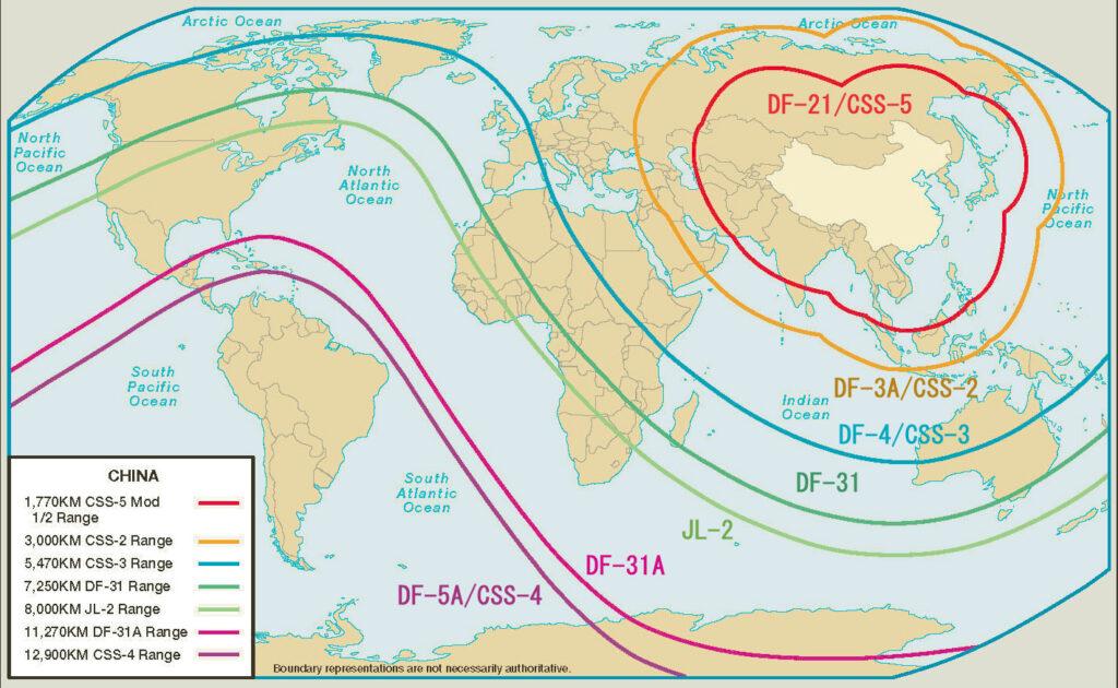 pla ballistic missiles range - naval post- naval news and information