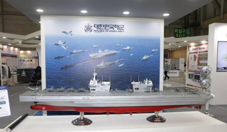 Fincantieri to support Daewoo in the design of the new Korean aircraft carrier
