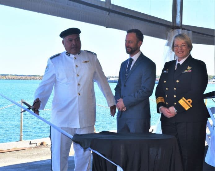 ribbon cutting 0 - naval post- naval news and information