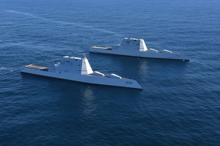 The effect of costs on the Zumwalt-class destroyer project
