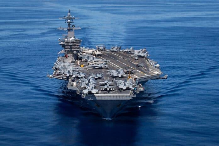 USS Carl Vinson (CVN 70) transits the Pacific Ocean, June 13. (U.S. Navy/MC3 Olympia O. McCoy)