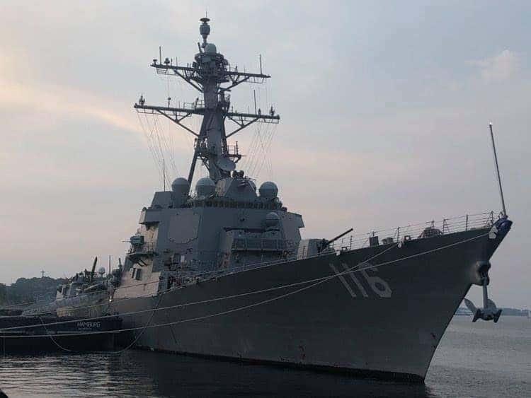 uss thomas hudner 1 - naval post- naval news and information