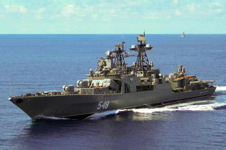 Russian Navy holds naval drills in Pacific
