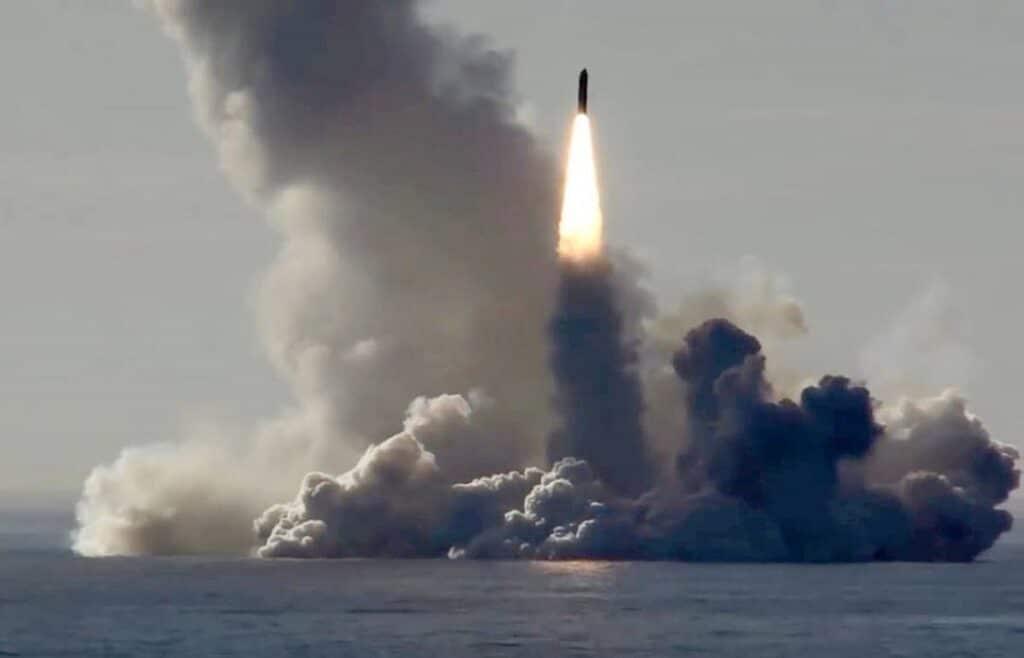 borei class launching bulava - naval post