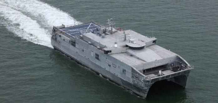 USNS Newport (T-EPF-12) (Photo: Austal)