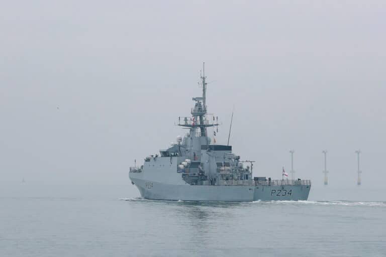 The Royal Navy commissions 5th and final Batch II River Class OPV HMS Spey