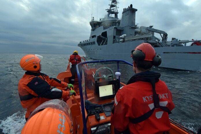 Norwegian Coast Guard vessel KV Sortland