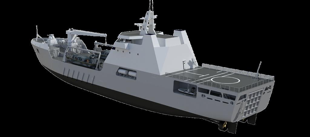 landing ship transport 100 - naval post- naval news and information