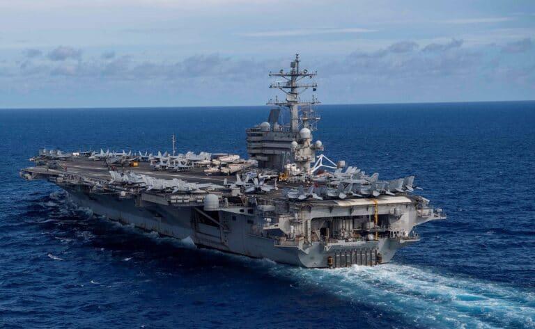 Ronald Reagan Carrier Strike Group joins 5th Fleet