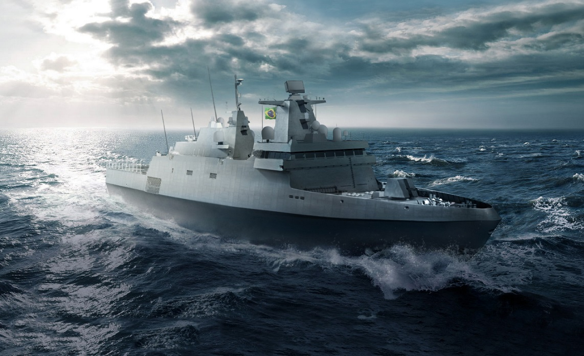 Brazilian Navy orders MBDA's Sea Ceptor air defence missile