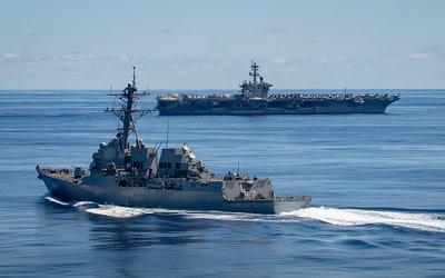 uss dewey uss carl vinson - naval post- naval news and information