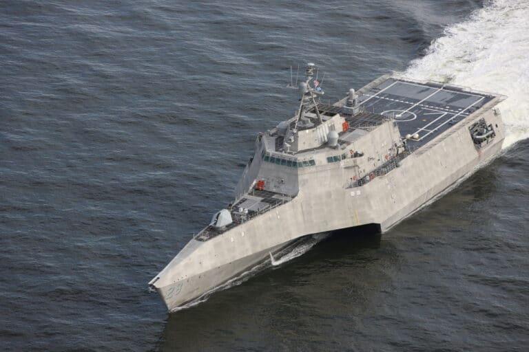 Littoral combat ship USS Savannah delivered to U.S. Navy