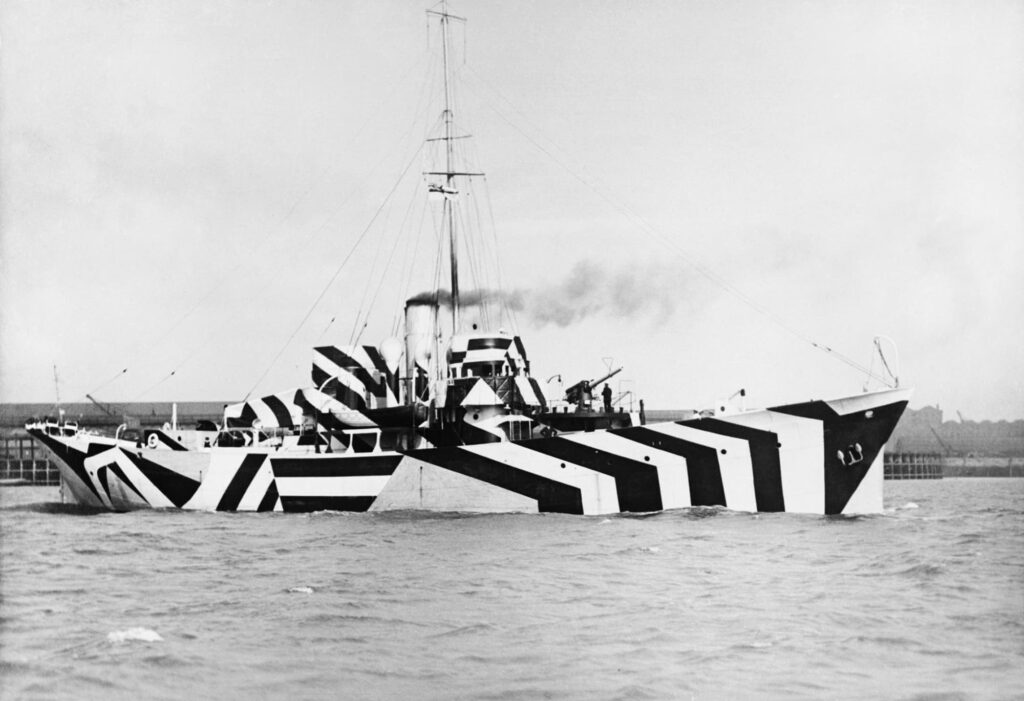 wwi dazzle camouflage gettyimages 154420247 - naval post- naval news and information