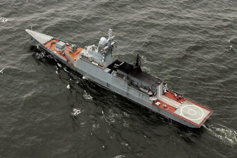 Russia's Project 20380 corvette Rezkiy rolls out from slipway