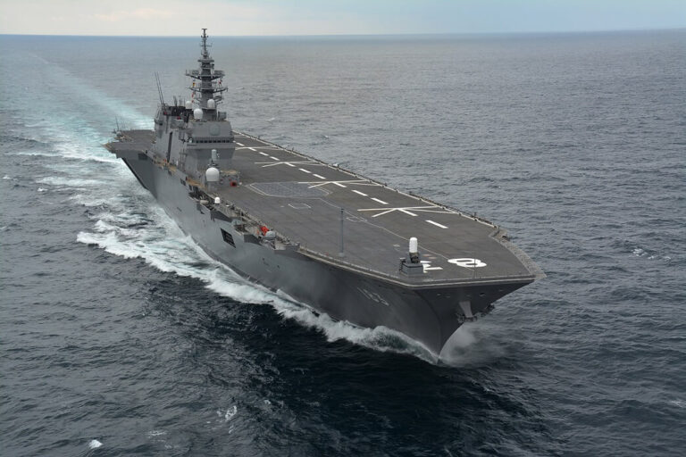 Izumo: A helicopter destroyer or an aircraft carrier?