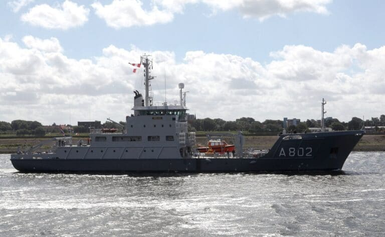 Damen completes mid-life upgrade of Dutch Navy's hydrographic survey vessel