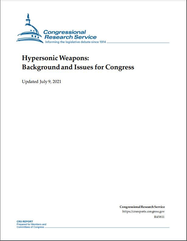hypersonic weapons july 21 cover - naval post- naval news and information