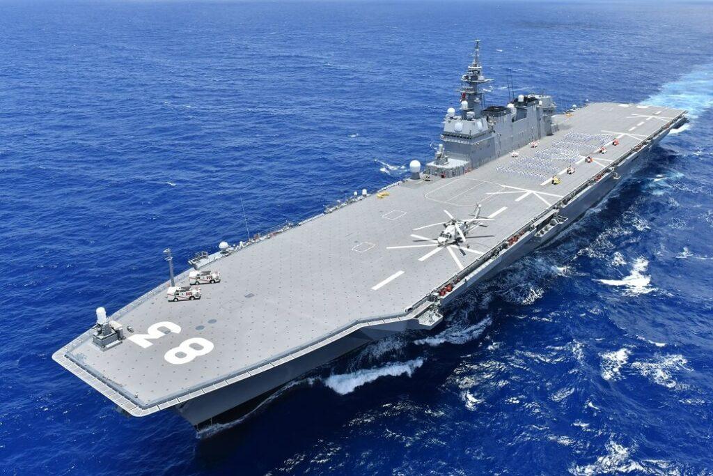 jmsdf cvh js izumo in ocean 1 - naval post- naval news and information