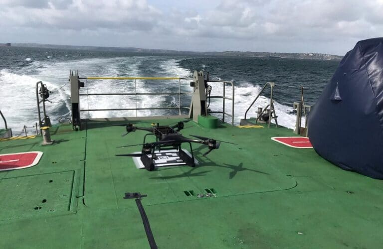 Royal Navy uses Minerva drones in man overboard exercises